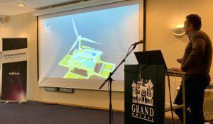 Viewpoint Spidercage and Seafarm Hybrid presented at «Havrommet – Havvind og havbruk til havs» in Egersund 28.01.2020